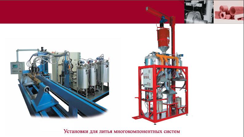 «polytec emc» оборудование для литья полиуретановых эластомеров в каталоге рал