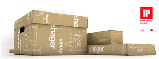 Экологичная упаковка продукции hager: стремиться к совершенству, подражая природе