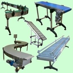 Ленточный конвейер (транспортер) - купить у производителя