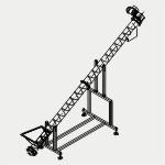 Производство ленточных конвейеров, ремонт, конвейер ленточный (наклонный), (ленточный спиральный шнековый) транспортер, запчасти для транспортера