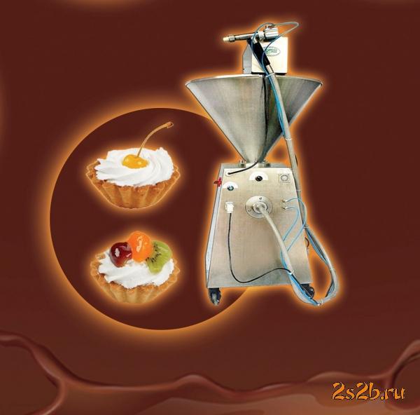Шнековый дозатор для наполнения жидких и твердых масс.