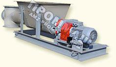 Питатели винтовые применяются для транспортирования и равномерной подачи пылевидных, зернистых и мелкокусковых насыпных грузов в технологическое оборудование