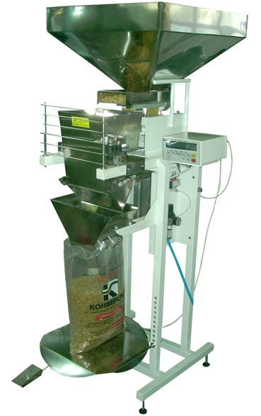 Дозатор весовой (фасовочный аппарат) от производителя.