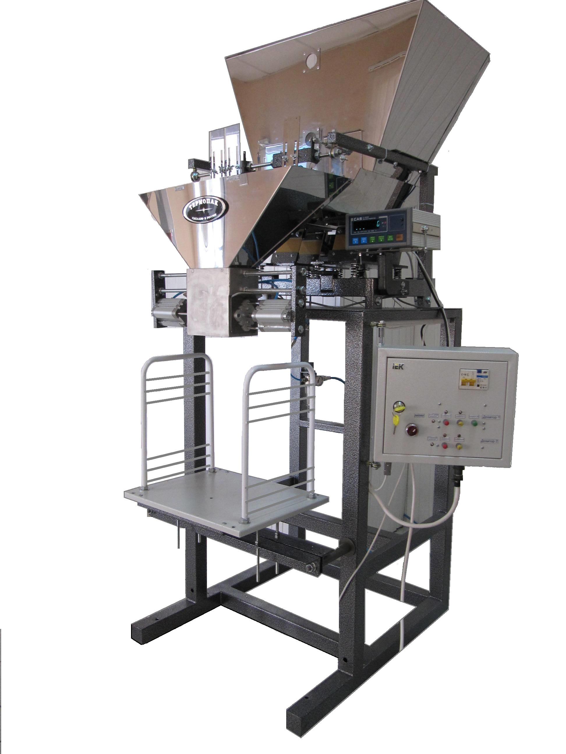 Весовые дозаторы для сыпучих и штучно-сыпучих продуктов