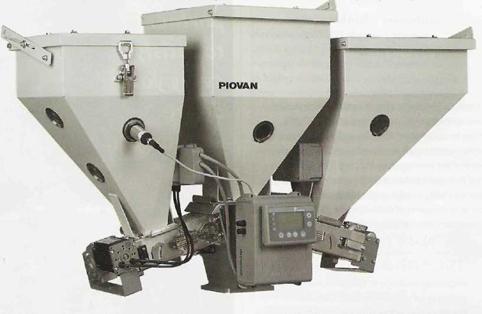 Piovan: объемный дозатор